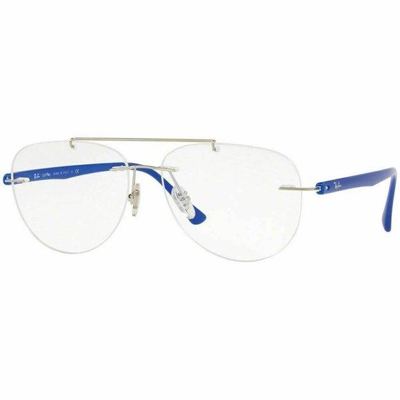 Ray-Ban Other - Ray-Ban Aviator Eyeglasses Silver W/Demo Lens